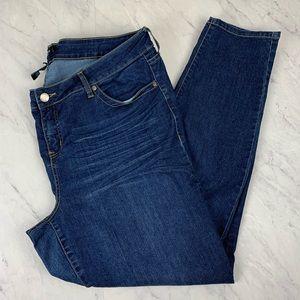Torrid Medium Wash Skinny Jeans, Size 22